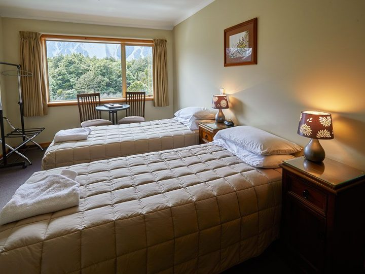 Aoraki Alpine Lodge Mt Cook superior double room