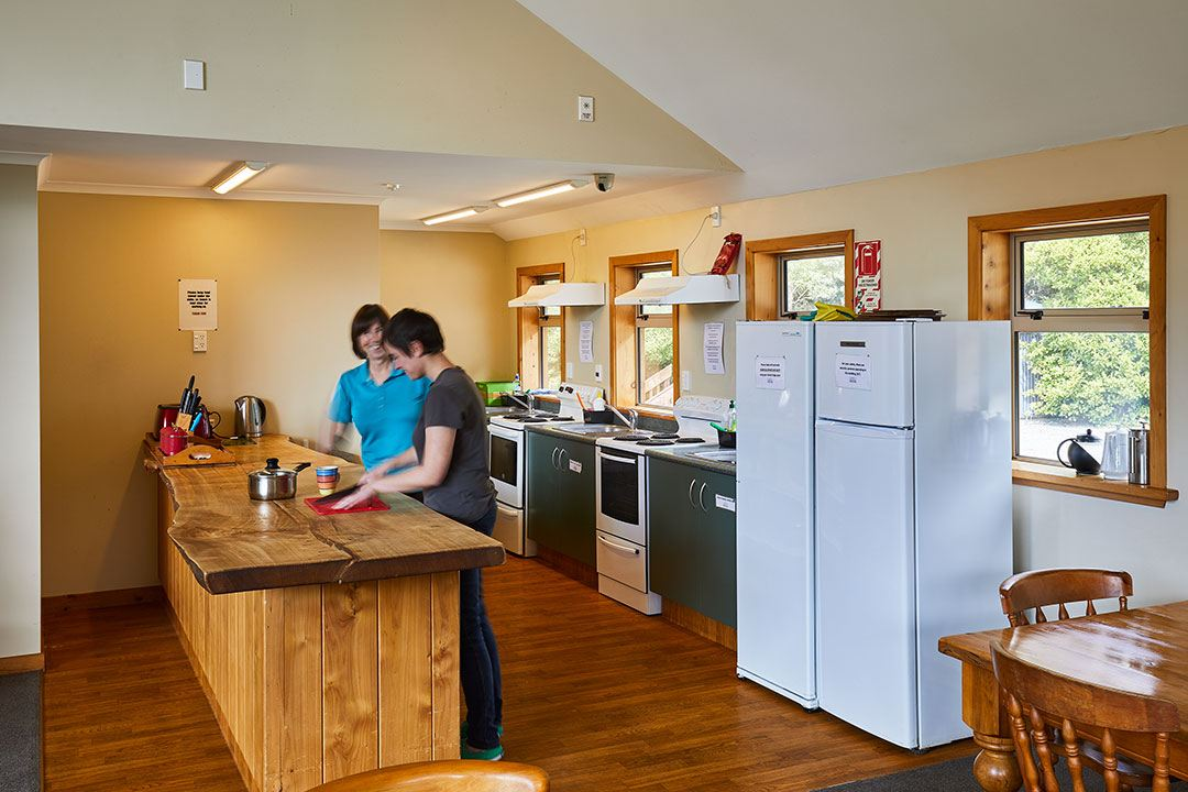Aoraki Mount Cook Alpine Lodge facilities kitchen