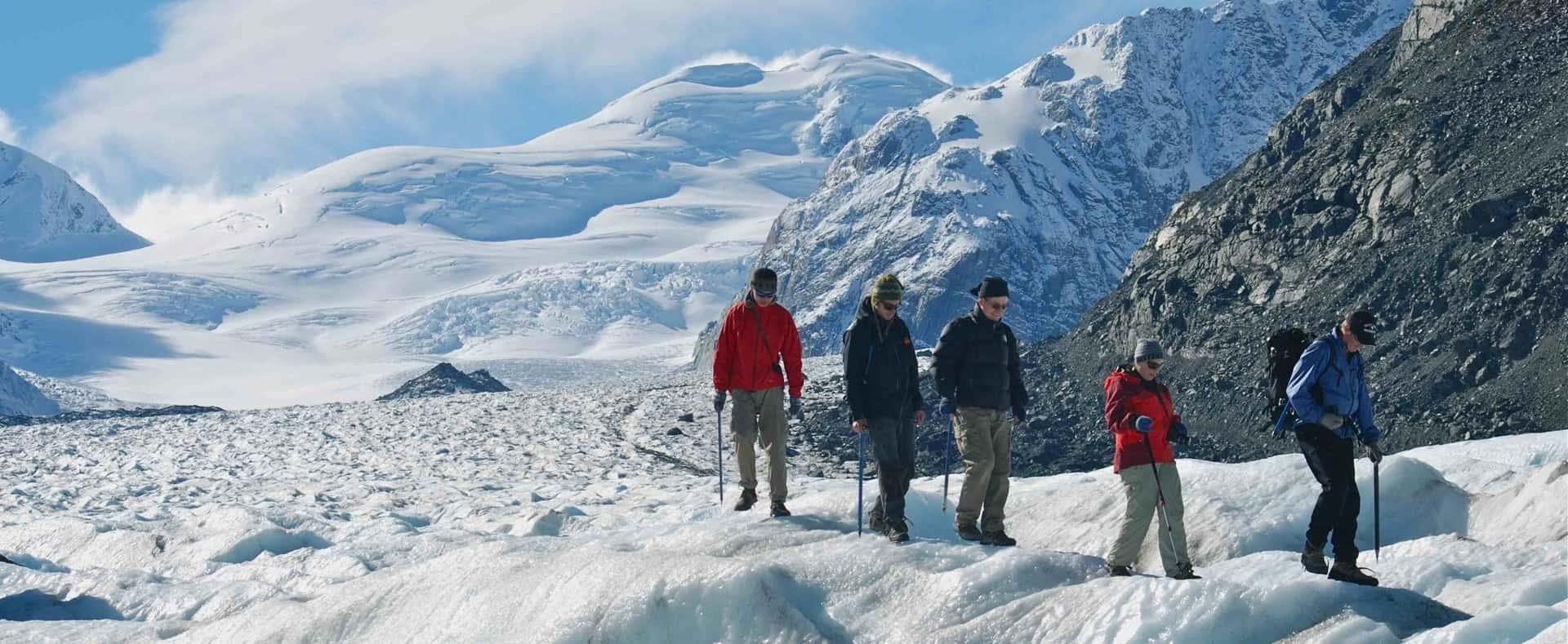 Aoraki Mount Cook National Park heli hike tour