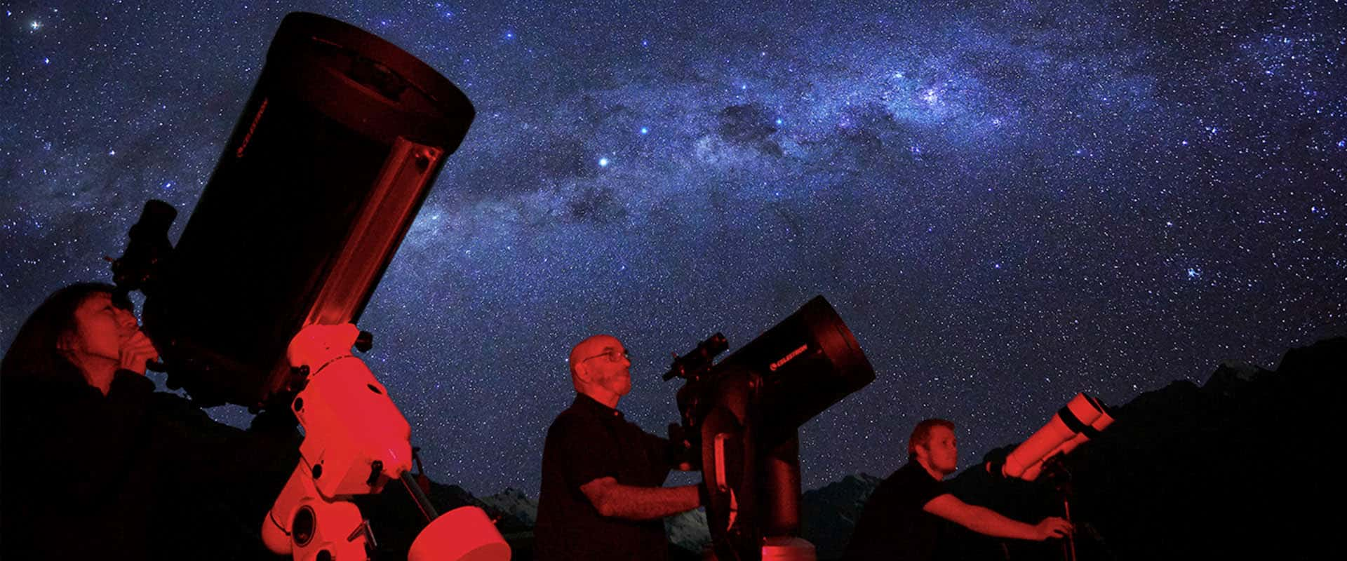 Aoraki Mt Cook Big Sky Stargazing tour