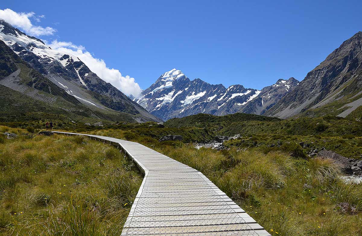Walks in Aoraki Mount Cook
